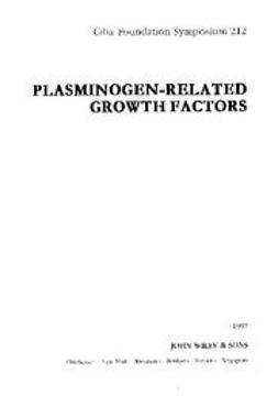 UNKNOWN - Plasminogen-Related Growth Factors, ebook