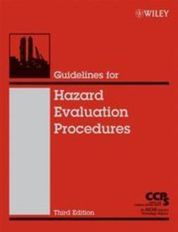 UNKNOWN - Guidelines for Hazard Evaluation Procedures, ebook