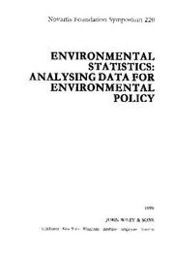 Foundation, Novartis - Environmental Statistics: Analysing Data for Environmental Policy, ebook