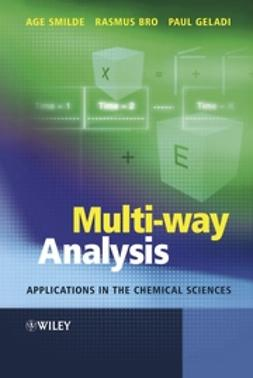Bro, Rasmus - Multi-way Analysis: Applications in the Chemical Sciences, ebook