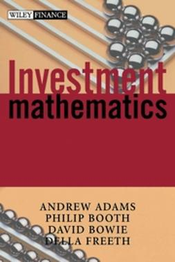 Adams, Andrew A. - Investment Mathematics, ebook
