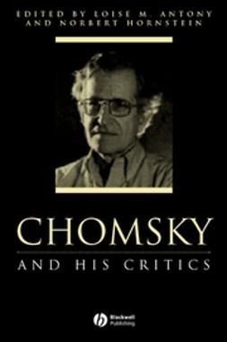 Antony, Louise M. - Chomsky and His Critics, ebook