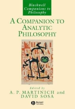 Companion to analytic philosophy, A