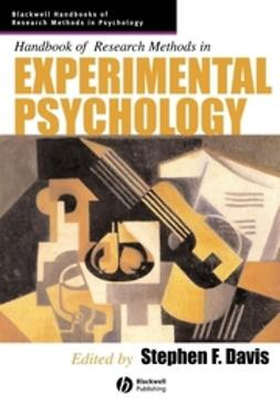 Davis, Stephen F. - Handbook of Research Methods in Experimental Psychology, e-bok