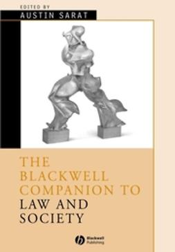Sarat, Austin - The Blackwell Companion to Law and Society, ebook