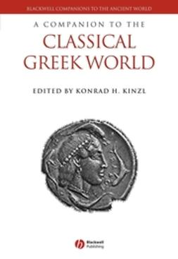 Kinzl, Konrad H. - A Companion to the Classical Greek World, e-bok