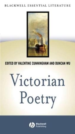 Cunningham, Valentine - Victorian Poetry, ebook