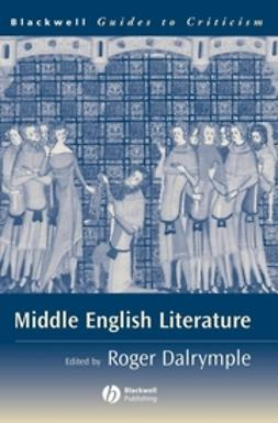 Dalrymple, Roger - Middle English Literature: A Guide to Criticism, ebook