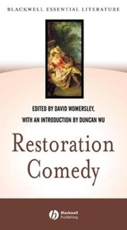 Womersley, David - Restoration Comedy, ebook
