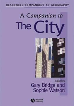 Bridge, Gary - A Companion to the City, e-bok