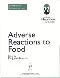 Buttriss, Judy - Adverse Reactions to Food: The Report of a British Nutrition Foundation Task Force, ebook