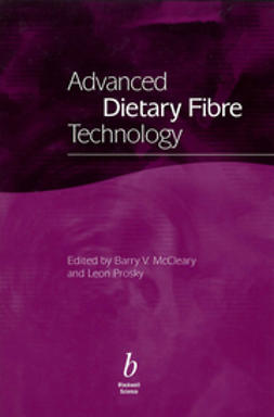 McCleary, Barry - Advanced Dietary Fibre Technology, e-kirja