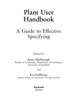 Fieldhouse, Ken - Plant User Handbook: A Guide to Effetive Specifying, ebook