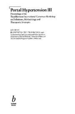 DeFranchis, Roberto - Portal Hypertension III, ebook