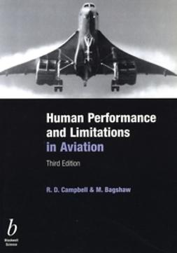 Bagshaw, Michael - Human Performance and Limitations in Aviation, ebook