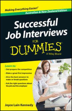 Kennedy, Joyce Lain - Successful Job Interviews For Dummies - Australia / NZ, ebook