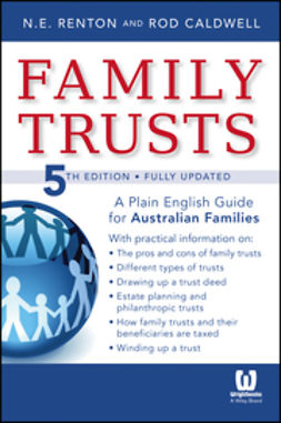 Renton, Nick - Family Trusts: A Plain English Guide for Australian Families of Average Means, ebook