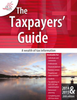 - The Taxpayers Guide 2014-2015, ebook