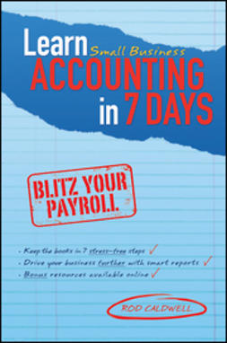 Caldwell, Rod - Learn Small Business Accounting in 7 Days, ebook