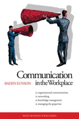 Eunson, Baden - Communication in the Workplace, ebook