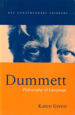 Green, Karen - Dummett: Philosophy of Language, ebook