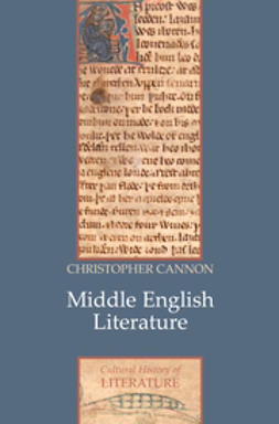 Cannon, Christopher - Middle English Literature, e-bok