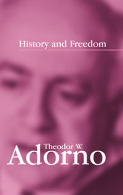Adorno, Theodor W. - History and Freedom: Lectures 1964-1965, ebook