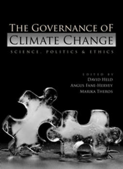 Fane-Hervey, Angus - The Governance of Climate Change, ebook