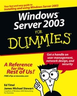 Tittel, Ed - Windows Server 2003 For Dummies, ebook