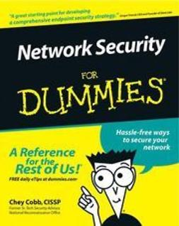 Cobb, Chey - Network Security For Dummies, ebook