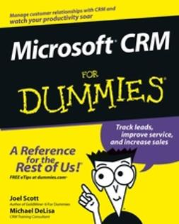 DeLisa, Michael - Microsoft CRM For Dummies, ebook