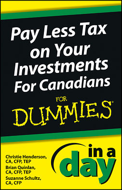 Henderson, Christie - Pay Less Tax In a Day For Canadians For Dummies, ebook