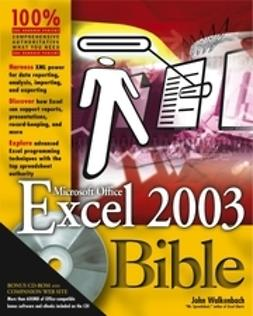Walkenbach, John - Excel 2003 Bible, ebook