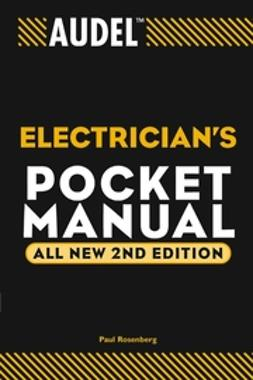 Rosenberg, Paul - Audel Electrician's Pocket Manual, ebook