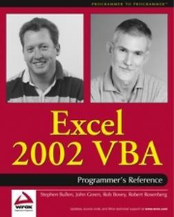 Bovey, Rob - Excel 2002 VBA: Programmers Reference, e-kirja