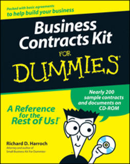 Harroch, Richard D. - Business Contracts Kit For Dummies<sup>&#174;</sup>, ebook