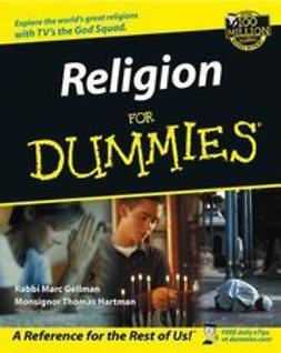 Gellman, Marc - Religion For Dummies<sup>®</sup>, ebook