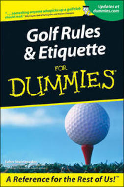 Steinbreder, John - Golf Rules & Etiquette For Dummies, ebook