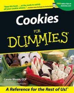 Bloom, Carole - Cookies For Dummies, ebook