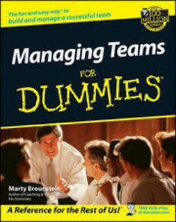 Brounstein, Marty - Managing Teams For Dummies, ebook