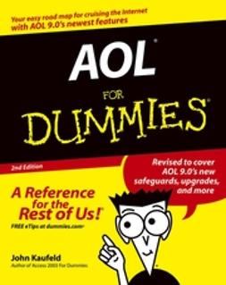 Kaufeld, John - AOL For Dummies, ebook