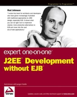 Hoeller, Juergen - Expert One-on-One J2EE Development without EJB, ebook
