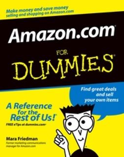 Friedman, Mara - Amazon.com For Dummies, ebook
