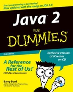 Burd, Barry - Java 2 For Dummies, ebook