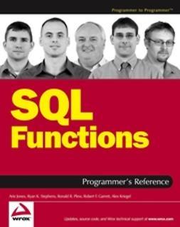 Garrett, Robert F. - SQL Functions Programmer's Reference, ebook