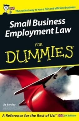 Barclay, Liz - Small Business Employment Law For Dummies, ebook