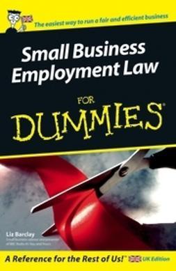 Barclay, Liz - Small Business Employment Law For Dummies, e-bok