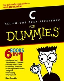 Gookin, Dan - C All-in-One Desk Reference For Dummies<sup>&#174;</sup>, e-kirja