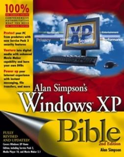 Simpson, Alan - Alan Simpson's Windows XP Bible, ebook