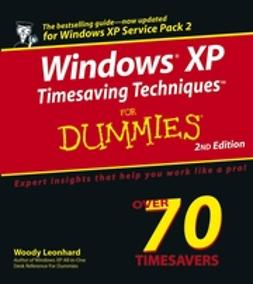 Leonhard, Justin - Windows XP Timesaving Techniques For Dummies, ebook